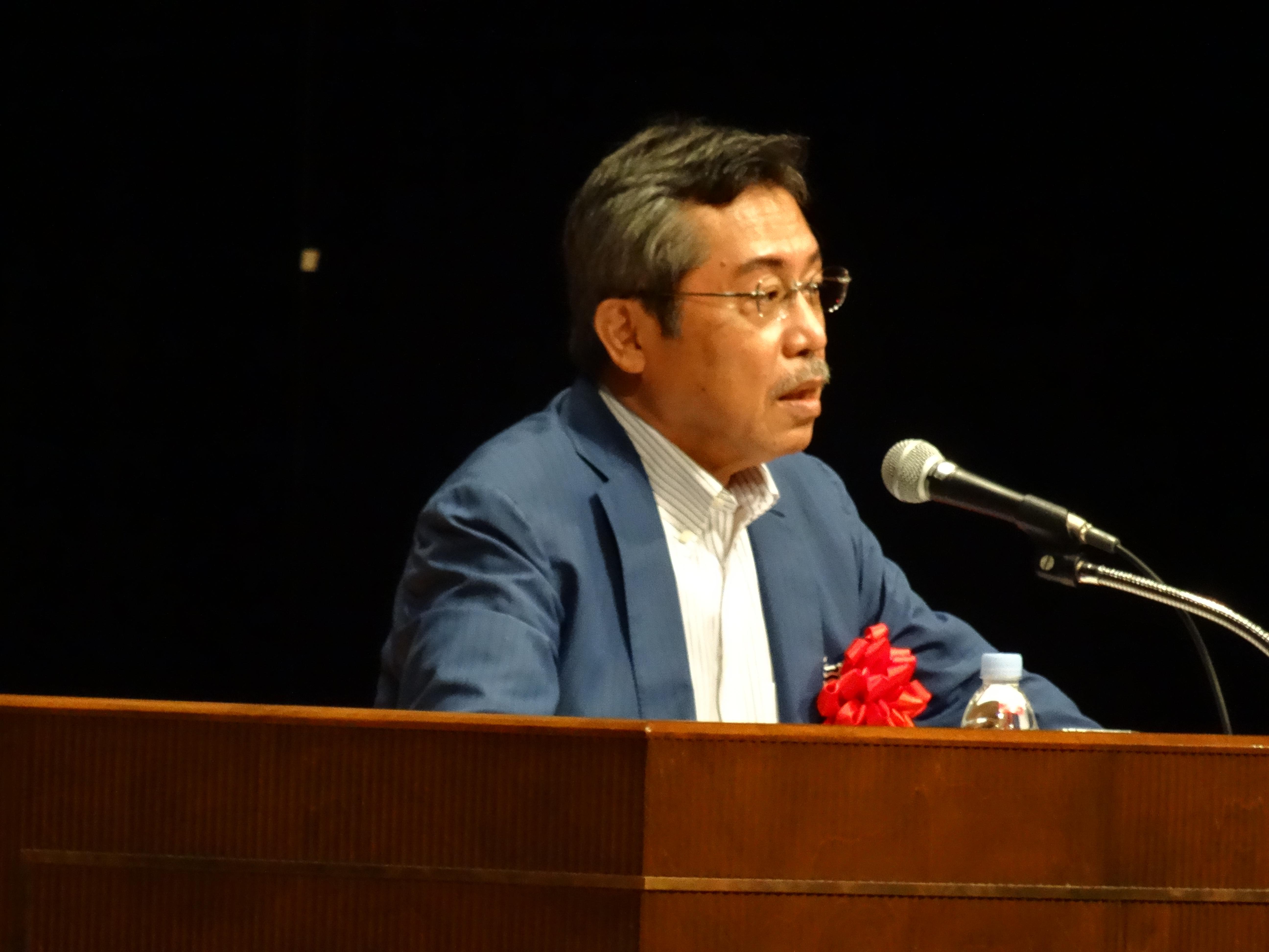 2016/9/29 弘兼憲史先生の講演を聴いてきました