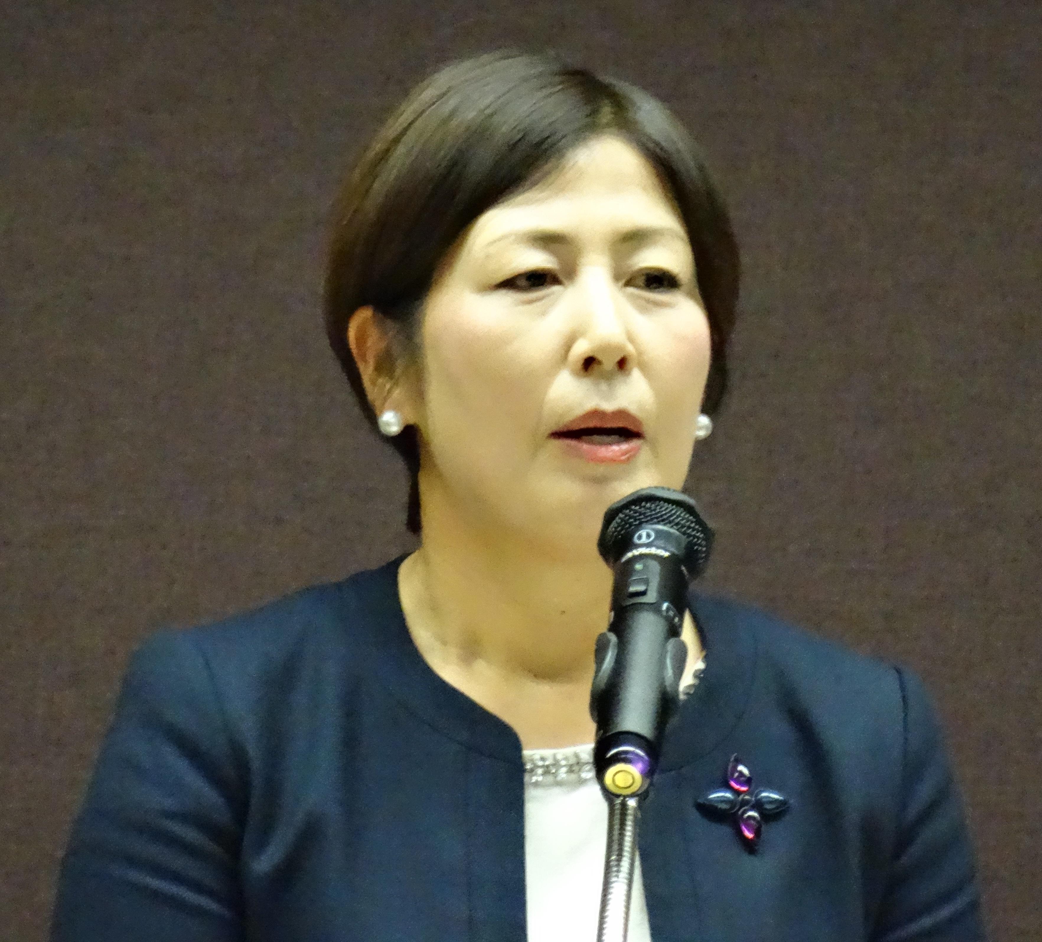 2016年12月 村口史子先生の講演を聴いてきました