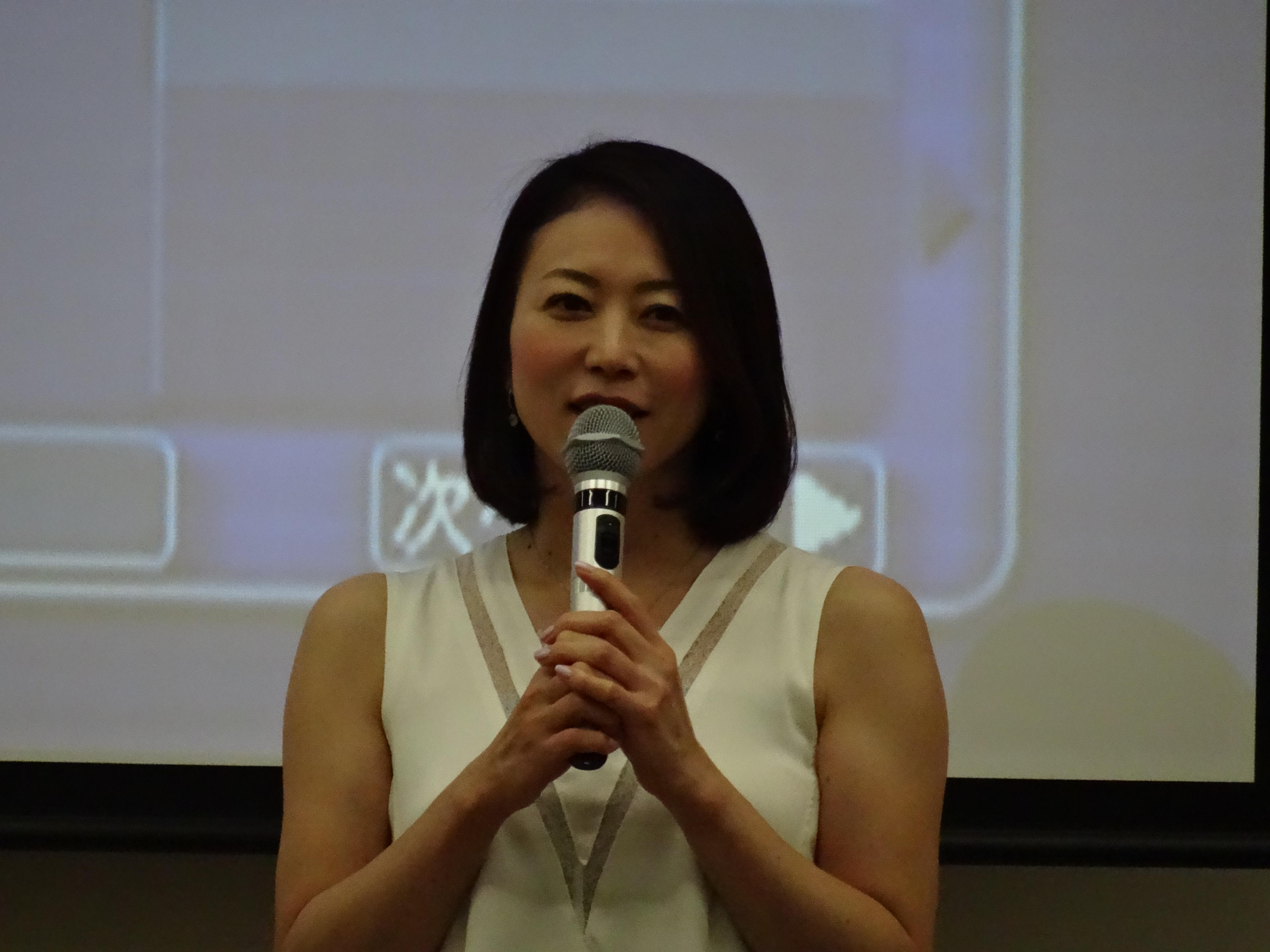2016/8/24 田中雅美先生の講演を聴いてきました
