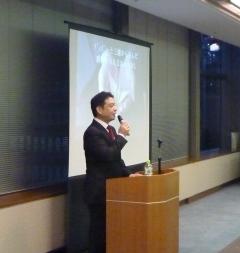 2014年1月23日(木) 上田比呂志先生の講演を聴いてきました