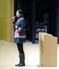 2014年2月23日(日) 大林素子先生の講演を聴いてきました