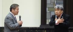 2014年6月19日(木) コント山口君と竹田君の講演を聴いてきました