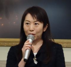 2014年10月1日(水) 諏訪貴子先生の講演を聴いてきました