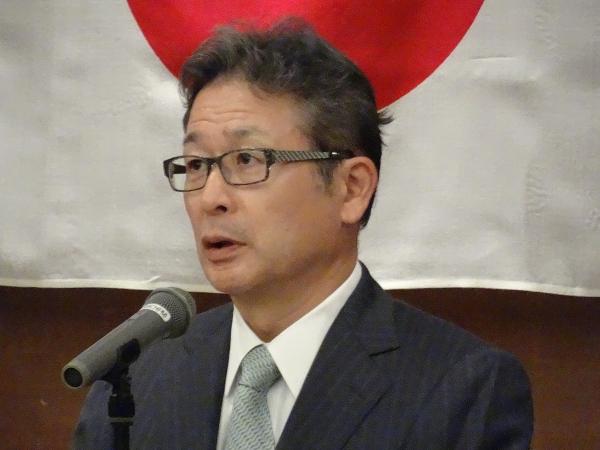 2015/09/05 江上剛先生の講演を聴いてきました
