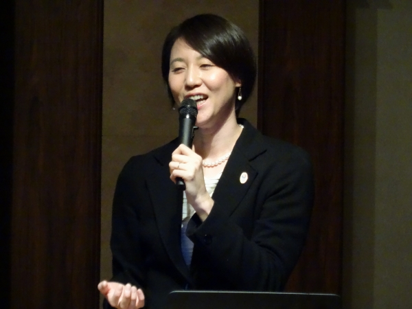 2016/01/15 萩原智子先生の講演を聴いてきました