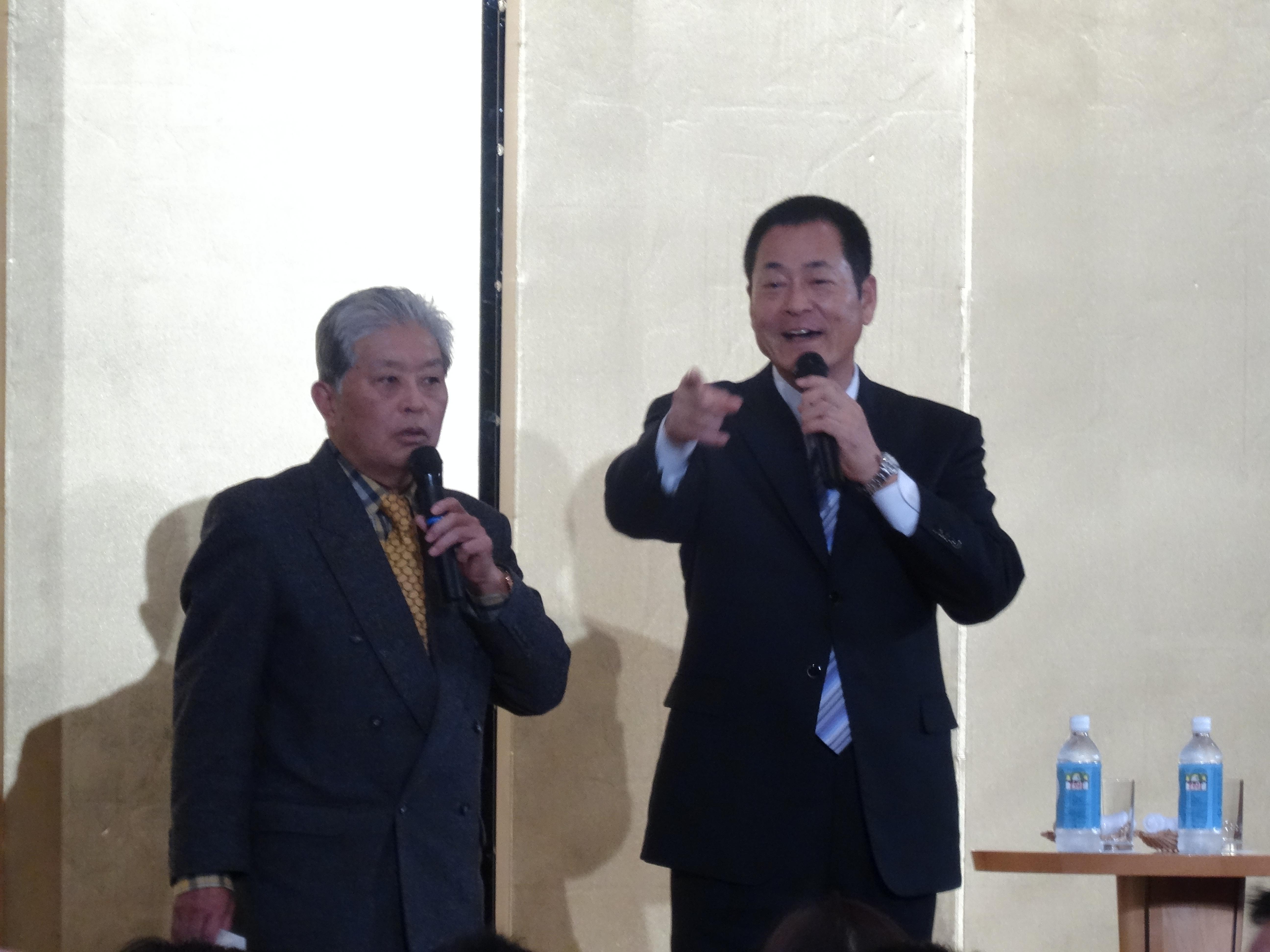 2016年11月 中畑清先生のトークショーを聴いてきました
