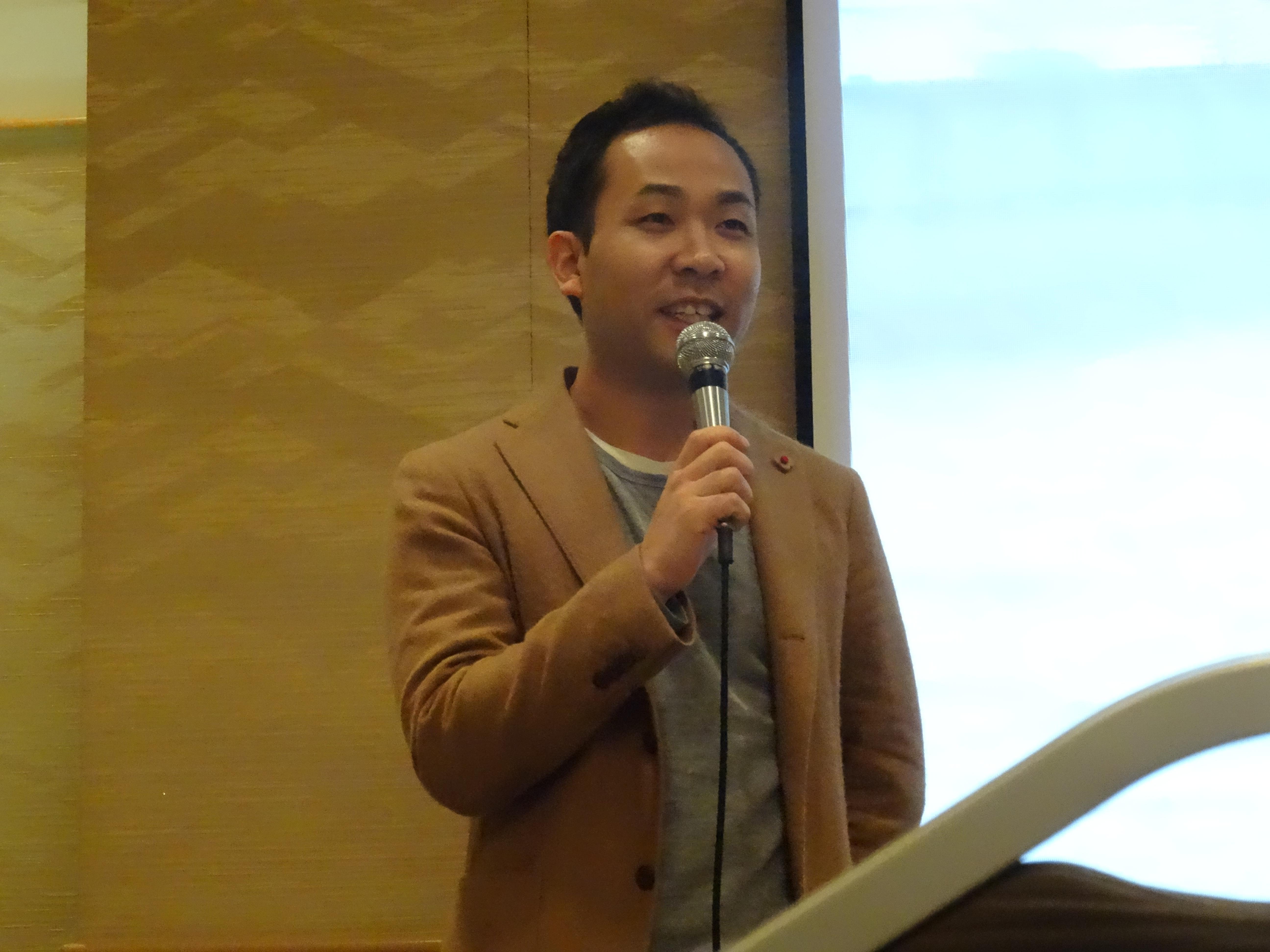 2016年12月 天達武史先生の講演を聴いてきました