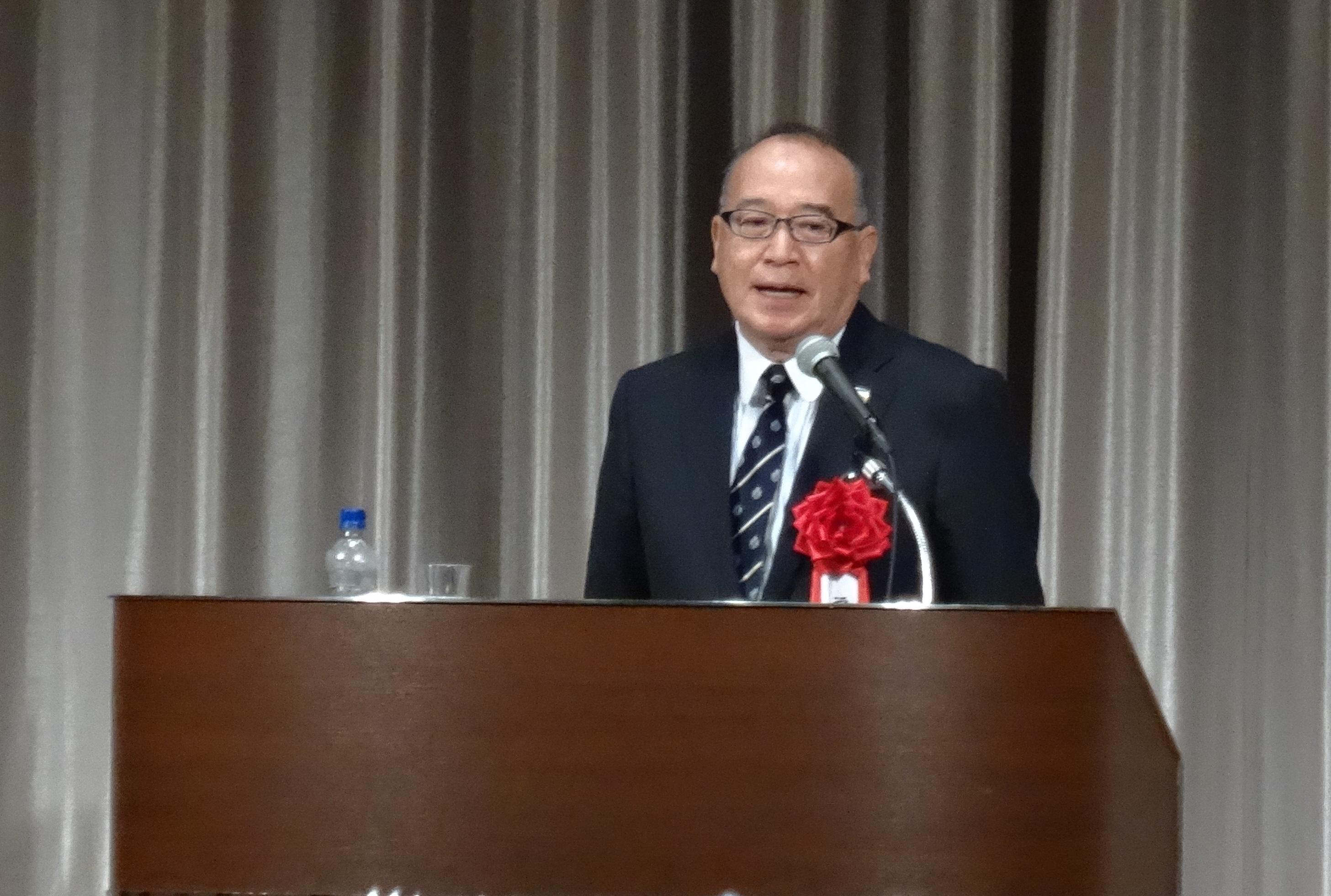 2016年10月 福岡政行先生の講演を聴いてきました