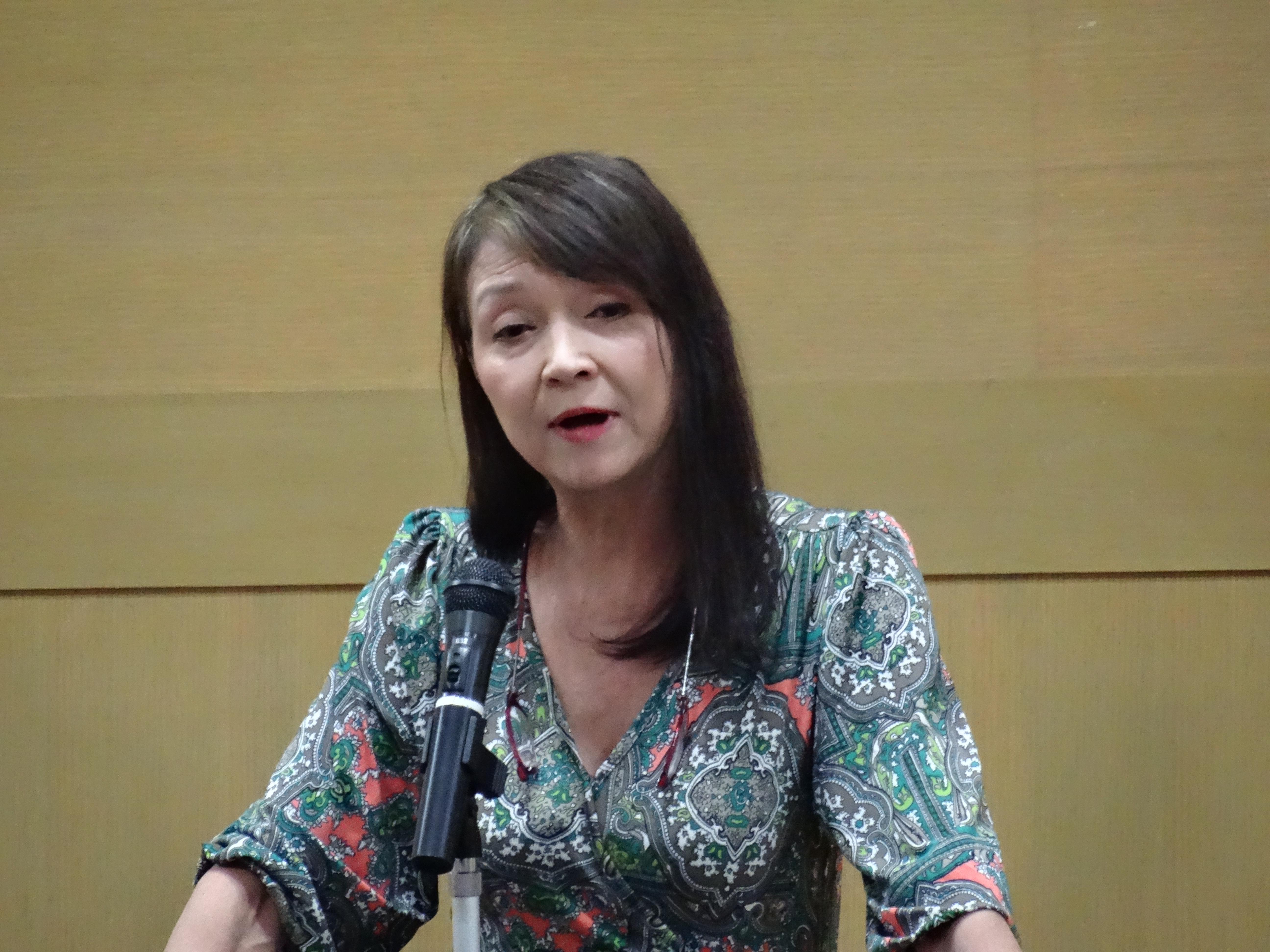 2016年10月 秋川リサ先生の講演を聴いてきました