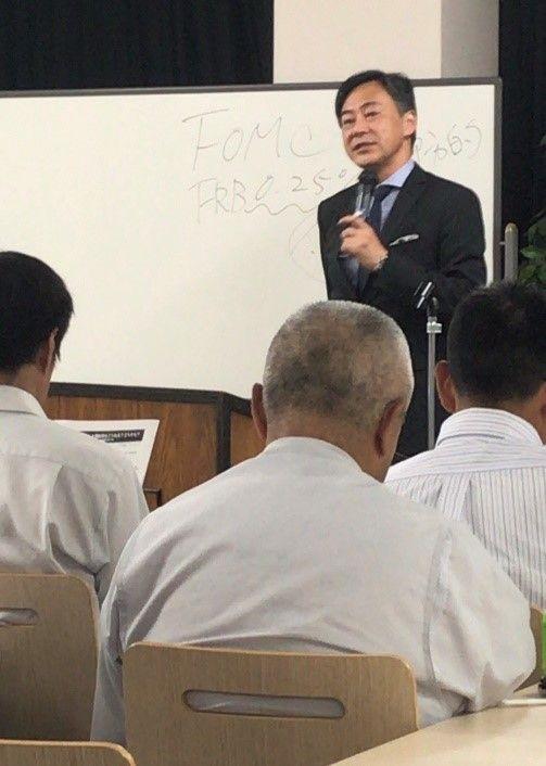田嶋智太郎先生の講演を聴いてきました