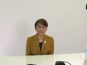 宇津木妙子先生のオンライン講演を実施しました