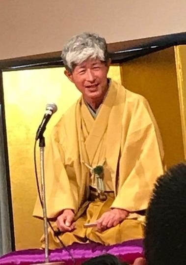 桂歌春師匠の講演・落語を聴いてきました