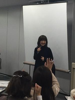 仲野綾花先生の講演を聴いてきました