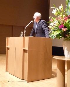 2013年12月2日(月) 田﨑史郎先生の講演を聴いてきました