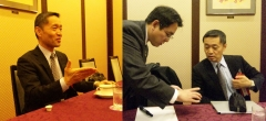 2013年12月18日(水) 岩﨑由純先生の講演を聴いてきました