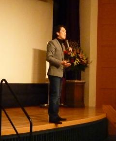 2014年1月22日(水)  夏野剛先生の講演を聴いてきました