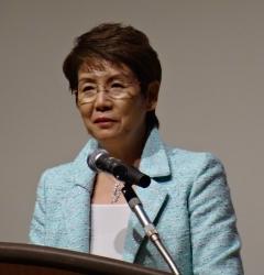 2014年11月21日(金) 井村雅代先生の講演を聴いてきました