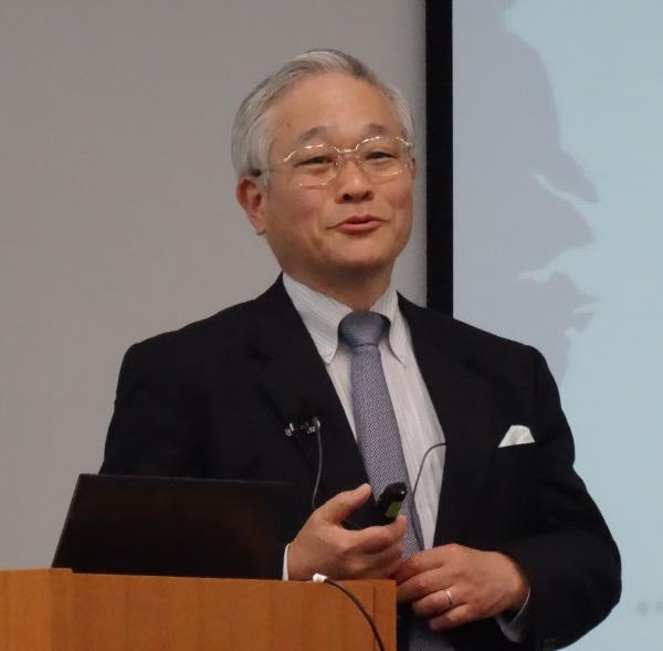 2015/10/03 再び辛坊正記先生の講演を聴いてきました