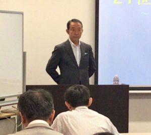 塚原利夫先生の講演を聴いてきました