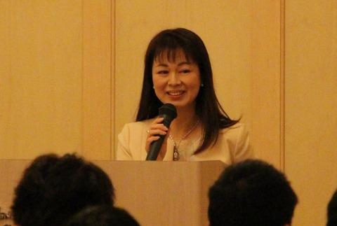 桐生純子先生の講演を聴いてきました