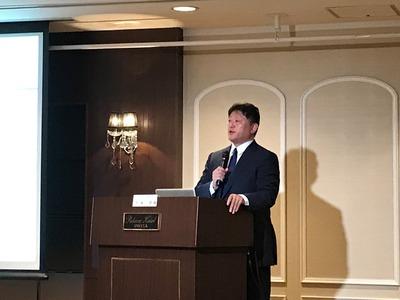 今泉清先生の講演を聴いてきました