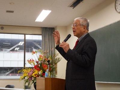 藤田紘一郎先生の講演を聴いてきました