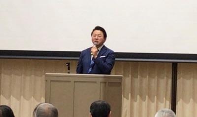 舞の海秀平先生の講演を聴いてきました