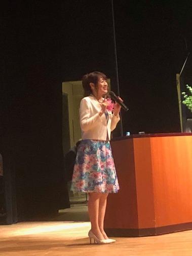 晴香葉子先生の講演を聴いてきました