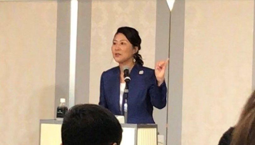 沢松奈生子先生の講演を聴いてきました