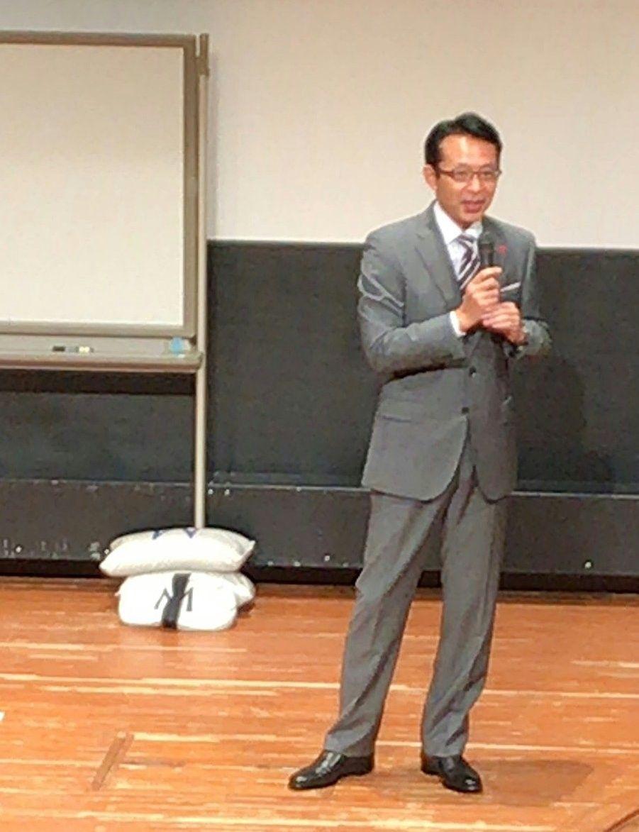 福澤朗先生の講演を聴いてきました