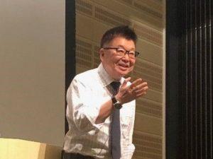 生島ヒロシ先生の講演を聴いてきました