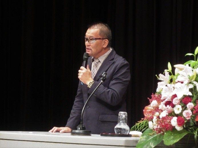 蝶野正洋先生の講演を聴いてきました