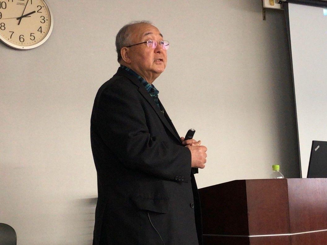 的川泰宣先生の講演を聴いてきました