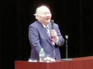 加藤一二三先生の講演を聴いてきました