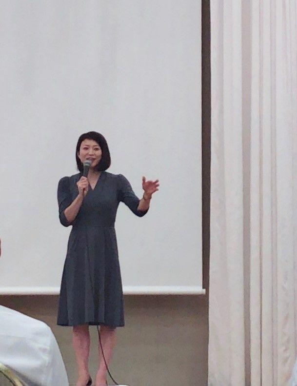 田中雅美先生の講演を聴いてきました
