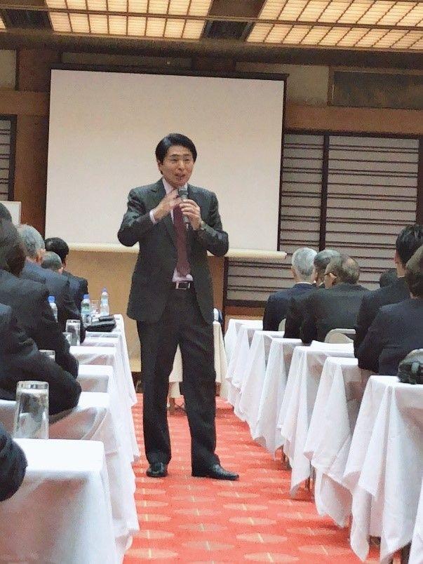 山本昌邦先生の講演を聴いてきました