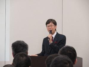 芳賀繁先生の講演を聴いてきました