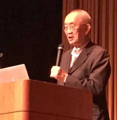 月尾嘉男先生の講演を聴いてきました